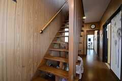 階段の様子。(2015-03-18,共用部,OTHER,1F)