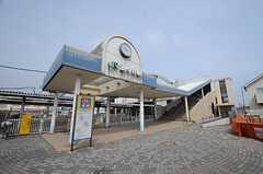 JR成田線・酒々井駅の様子。(2015-03-18,共用部,ENVIRONMENT,1F)