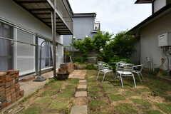 庭の様子。(2018-05-17,共用部,OTHER,1F)
