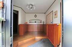 正面玄関から見た内部の様子。(2012-05-21,周辺環境,ENTRANCE,1F)
