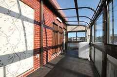 洗面台の対面に308、309号室があります。(2012-05-21,共用部,OTHER,3F)