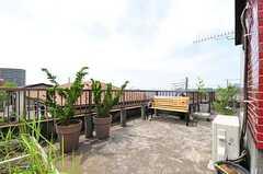 屋上の様子。(2012-05-21,共用部,OTHER,3F)