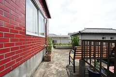 屋上の様子2。(2012-05-21,共用部,OTHER,3F)