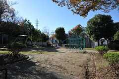 シェアハウス周辺の公園。(2012-05-21,共用部,ENVIRONMENT,1F)