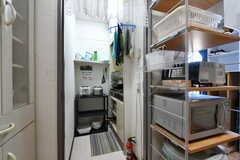 キッチンの様子。(2021-03-15,共用部,KITCHEN,3F)