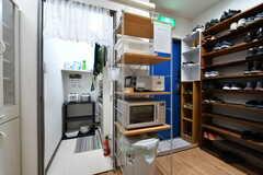 キッチン家電の様子。(2021-03-15,共用部,KITCHEN,3F)
