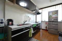 キッチンの様子。(2021-03-15,共用部,KITCHEN,4F)