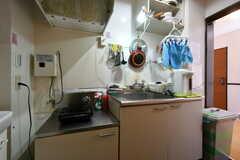 キッチンの様子。(2021-03-15,共用部,KITCHEN,2F)