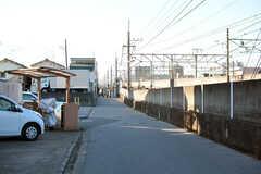 駅からシェアハウスへ向かう道の様子。(2021-03-15,共用部,ENVIRONMENT,1F)