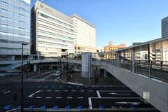 JR・千葉駅前の様子。(2021-03-15,共用部,ENVIRONMENT,1F)