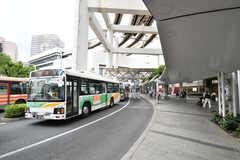 各線・千葉駅前のバスターミナルの様子。(2020-06-18,共用部,ENVIRONMENT,1F)