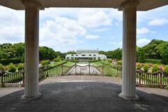 青葉の森公園の様子5。奥に見えるのが文化ホールです。(2019-06-03,共用部,ENVIRONMENT,1F)