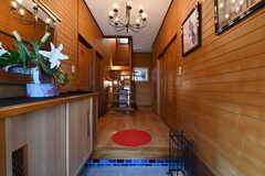 玄関から見た内部の様子。(2020-01-09,周辺環境,ENTRANCE,1F)