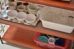 食器類は種類ごとに分けて置かれています。(2020-01-09,共用部,KITCHEN,1F)