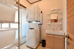脱衣室の様子。(2020-01-09,共用部,BATH,1F)