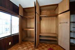 収納は大容量。(202号室)(2020-01-09,専有部,ROOM,2F)