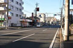 シェアハウスから駅へ向かう道の様子。(2020-01-09,共用部,ENVIRONMENT,1F)