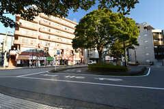 JR・本千葉駅前ロータリーの様子。(2020-01-09,共用部,ENVIRONMENT,1F)