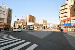 JR・本千葉駅前の様子。(2020-01-09,共用部,ENVIRONMENT,1F)