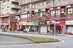 JR・本千葉駅前ロータリーの様子。(2020-10-27,共用部,ENVIRONMENT,1F)