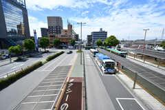 各線・幕張本郷駅前の様子。(2017-08-09,共用部,ENVIRONMENT,1F)