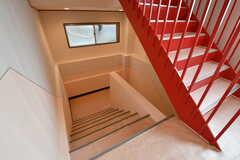 階段の様子。(2017-03-23,共用部,OTHER,1F)