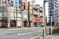各線・蘇我駅周辺の様子。(2017-03-23,共用部,ENVIRONMENT,1F)