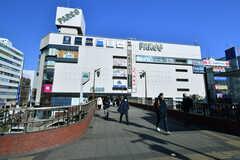 津田沼駅前にはパルコがあります。(2017-12-19,共用部,ENVIRONMENT,1F)