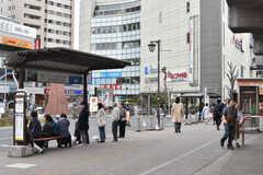 JR中央総武線・下総中山駅周辺の様子3。(2019-04-17,共用部,ENVIRONMENT,1F)