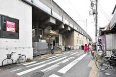 JR中央総武線・下総中山駅の様子。(2019-04-17,共用部,ENVIRONMENT,1F)