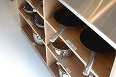調理器具はこちら。(2014-07-15,共用部,KITCHEN,1F)