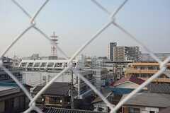 駅のホームが見えます。(2014-07-15,共用部,OTHER,5F)