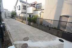 自転車置き場の様子。(2014-07-15,共用部,GARAGE,1F)