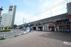 JR中央・総武線 下総中山駅の様子。(2014-07-15,共用部,ENVIRONMENT,1F)
