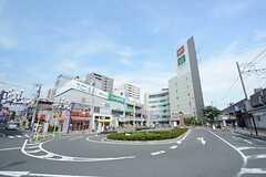 JR中央・総武線 下総中山駅前の様子。(2014-07-15,共用部,ENVIRONMENT,1F)