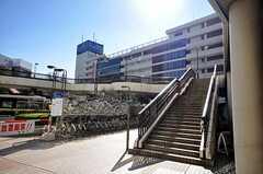各線・船橋駅前の様子。(2009-02-17,共用部,ENVIRONMENT,1F)