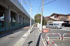 各線・船橋駅前からシェアハウスへ向かう道の様子。(2009-02-17,共用部,ENVIRONMENT,1F)