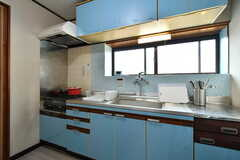 キッチンの様子。(2020-01-15,共用部,KITCHEN,1F)