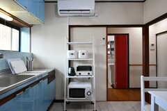 キッチン家電の様子。(2020-01-15,共用部,KITCHEN,1F)