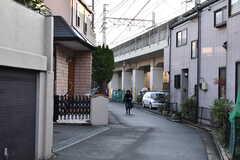 東葉高速鉄道・東海神駅前の様子。(2020-01-15,共用部,ENVIRONMENT,1F)
