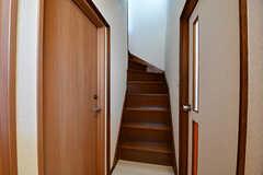階段の様子。(2016-10-24,共用部,OTHER,1F)