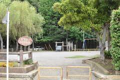 西習志野第2号公園の様子。(2017-07-06,共用部,ENVIRONMENT,1F)