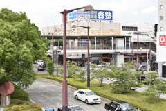 各線・北習志野駅周辺の様子2。(2017-07-06,共用部,ENVIRONMENT,1F)