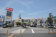 各線・西船橋駅前の様子。(2014-07-29,共用部,ENVIRONMENT,1F)