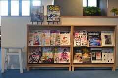 雑誌は定期的に入れ替わるのだそう。(2013-03-04,共用部,OTHER,1F)