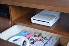 ゲーム機Wiiも設置されています。(2013-03-04,共用部,OTHER,1F)