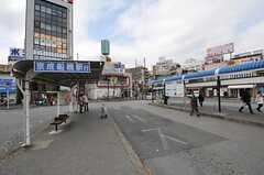 各線・西船橋駅前のバスターミナル。(2013-03-04,共用部,ENVIRONMENT,1F)