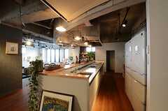 キッチンの様子。(2013-03-08,共用部,KITCHEN,1F)