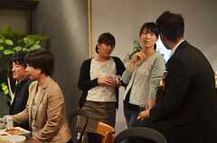 パーティーの様子3。(2013-04-26,共用部,PARTY,1F)
