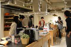 Webメディア「発酵美食」の取材時の様子。(2015-09-16,共用部,OTHER,1F)